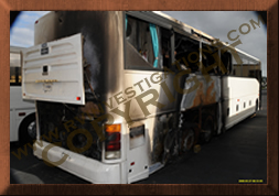 Bus Fires Tire Investigation