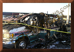 Motorhome/RV Fire Investigations
