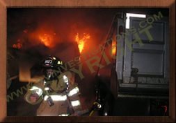 RV/Motorhome Fire