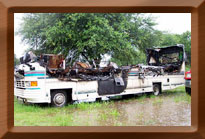 rv fire photograph